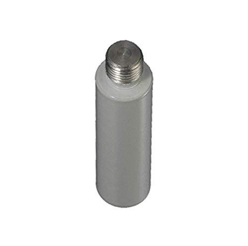 Liedeco plafond dragerverlenging gordijnroede, ronde profiel ø 20 mm | lengte 5 cm | 1 stuk | wit
