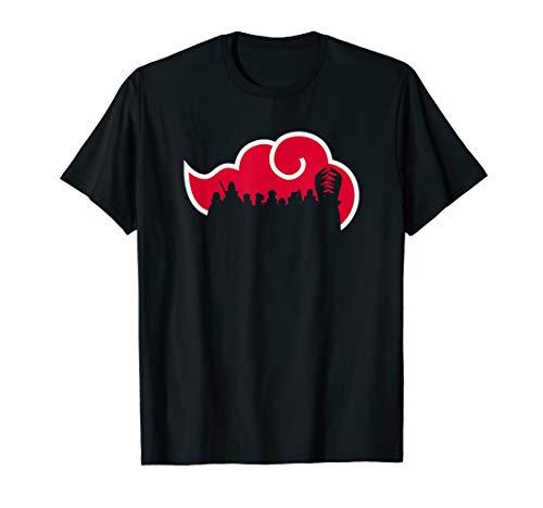 Naruto Shippuden Akatsuki Silhouette T-Shirt
