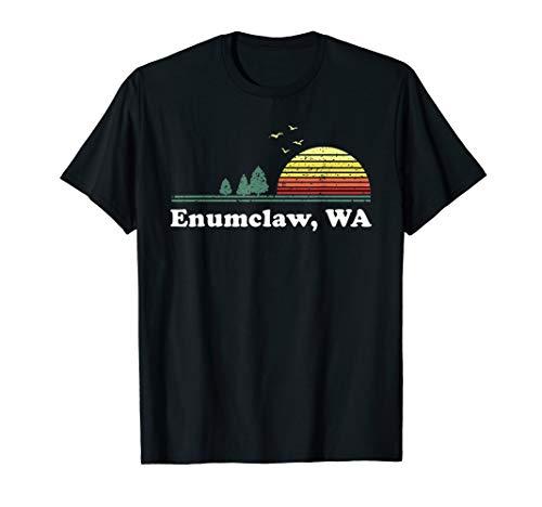 Vintage Enumclaw, Washington Home Souvenir Print T-Shirt