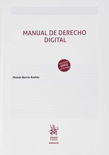 Manual De Derecho digital: 1 (Manuales de Derecho Civil y Mercantil)