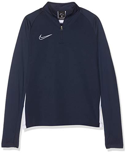 Nike B NK Dry ACDMY DRIL Top T-Shirt à Manches Longues Garçon Obsidian/White/White FR : L (Taille Fabricant : L)