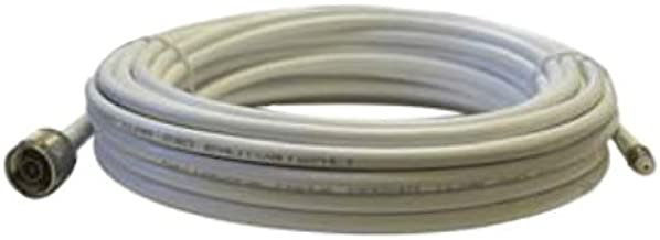 Cellphone-Mate CM240 White 40 Ft Ultra-Low-Loss Coaxial Coax Cable CM004-40-FN