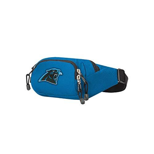 "THE NORTHWEST COMPANY Belt Bag NFL Carolina Panthers Cross-Country Bolsa para cinturón, 13"" x 5"" x 5"", Unisex Adulto, Azul, Talla única"