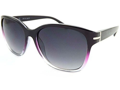 Bloc Damen Sonnenbrille Lily Shiny Black Crystal Fade FF14