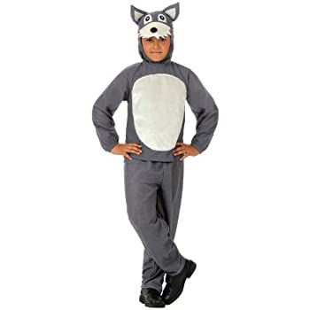 Atosa-10813 Disfraz Lobo, color gris, 5 a 6 años (10813): Amazon ...
