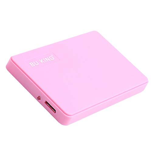hard disk esterno rosa BU KING Aggiornamento Ultra Sottile Rosa 250G 2.5 USB 3.0 Hard Disk Drive HDD per Il Computer Portatile