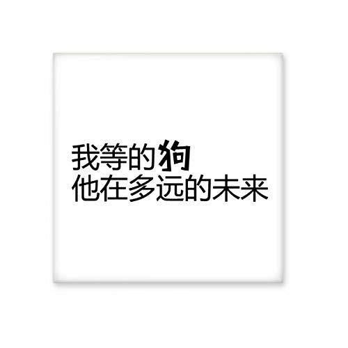 DIYthinker Chinese citaat Waar is Mr Rechts Keramische Bisque Tegels Badkamer Decor Keuken Keramische Tegels Wandtegels Medium