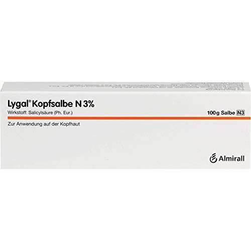 Lygal Kopfsalbe N 3% zur Abschuppung, 100 g Salbe