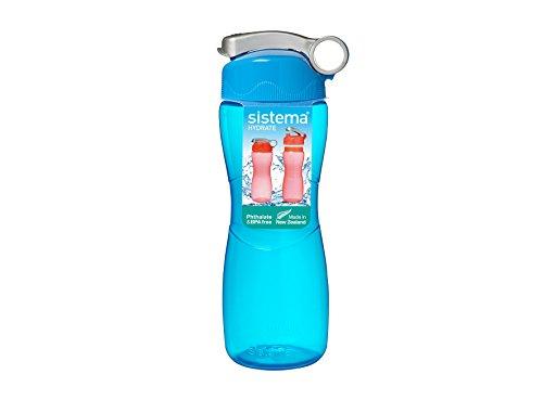 Sistema Hourglass Trinkflasche, 645ml, farblich sortiert