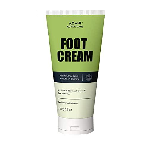 Azani Active Care Foot Care Cream (100 Gram) For Rough, Dry and Cracked Heel   Feet Cream For Heel Repair  Healing & softening cream for Women & Men