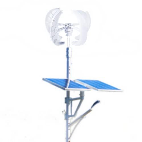 Vertical Wind Generator Kit, 600w 12v Wind Turbine Generator Kit White Red...