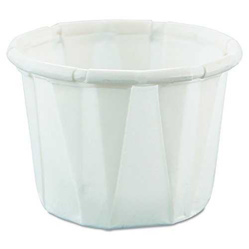 Solo 050-2050 0.5 oz Treated Paper Portion Cup (Case of 5000)