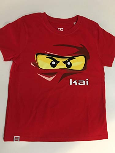 LEGO Camiseta Ninjago Kai Rojo M/C