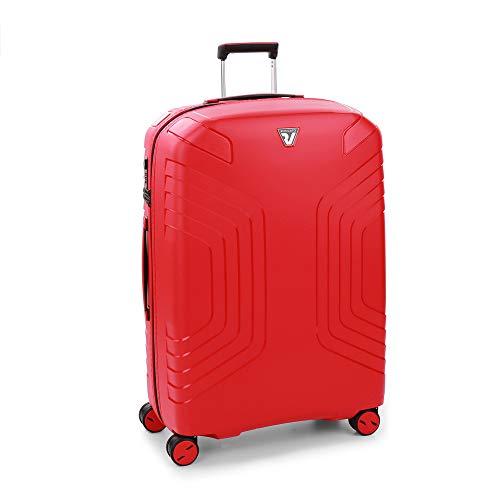 Roncato Ypsilon Maleta Grande Expansible Rojo, Medida: 78 x 56 x 30/35 cm, Capacidad: 120/142 l, Pesas: 3.9 kg