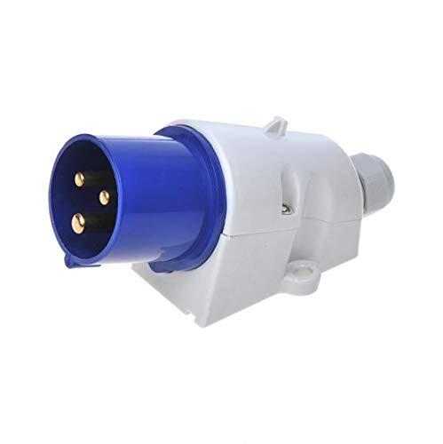 CEE stopcontact einspeisestecker Opbouw kurzadapter elektroversorgung