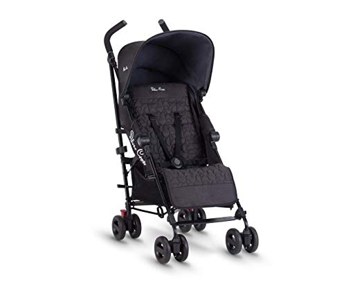 Silver Cross Zest Stroller, Compact and Lightweight Fully Reclining Baby To...