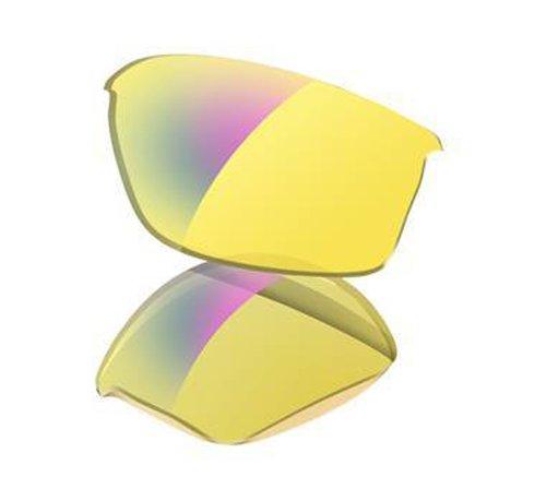 Oakley Flak Jacket - Gafas de Ciclismo, Color (Hi Yellow Iridium), Talla Talla única