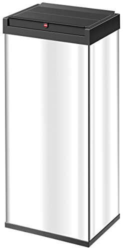 Hailo Big-Box Swing XL, Mülleimer, 52 Liter, selbstschließender Schwing-Deckel, Müllbeutel-Klemmrahmen, made in Germany, 0860-211