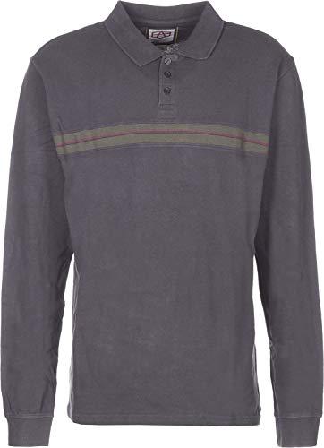 RVCA Herren AR Polo Langarmhemd, blau, M EU