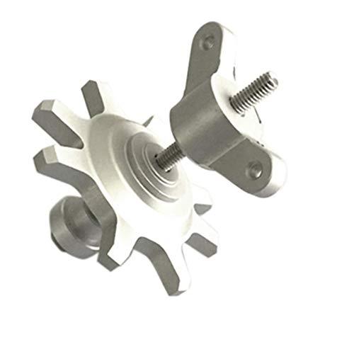 ACAMPTAR Herramienta de InstalacióN y ExtraccióN de NeumáTicos para 1/10 RC Crawler Car 1.9 2.2 Pulgada Beadlock Wheel
