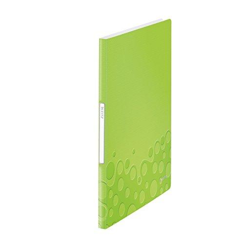 Leitz 46310064 Sichtbuch wow, A4, PP, 20 Hüllen, grün metallic