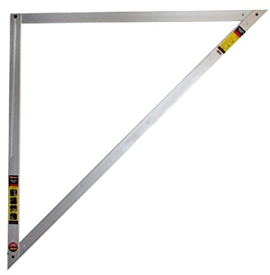 CH Hanson 45EX 4 inch x 4 inch Layout Triangle with 45 Degree Angle
