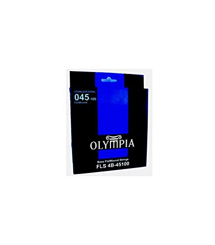 Juego Olympia Flatwound Bajo FLS (045-100