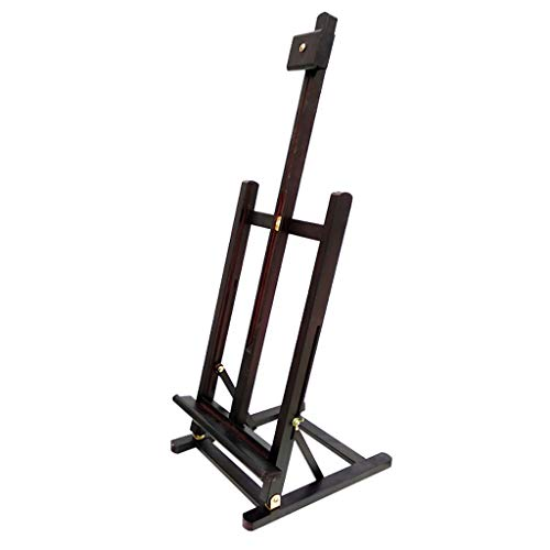 Diepe Walnoot Kleur Tafel Easel, Pine Lifting Folding Art Schilderij Plank Schets Houten Schilderij Plank Schilderij Board