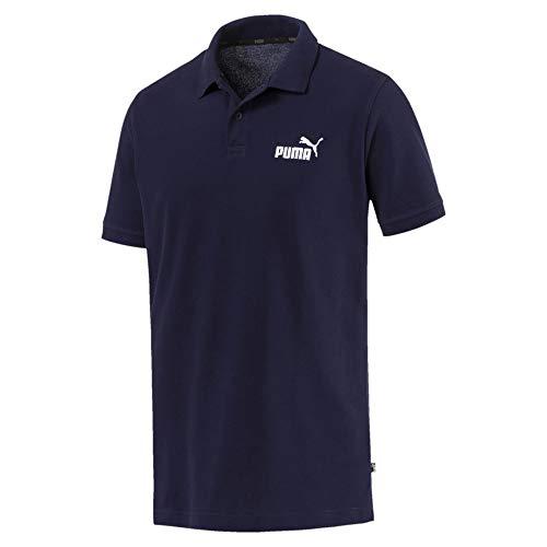 PUMA Herren Poloshirt Essentials Pique Polo 851759 Peacoat XXXL