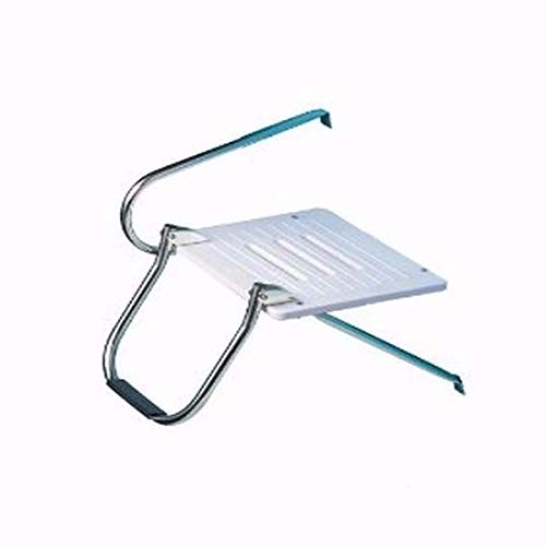 New Boat Swim Polyethylene Inboard//Outboard Platform Stainless 3 Steps Ladder