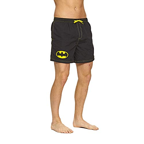 Zoggs Herren Batman Water Shorts Badehose, Schwarz, Large/36-Inch