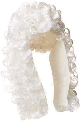 Rubies witte pruik voor volwassenen, eenheidsmaat