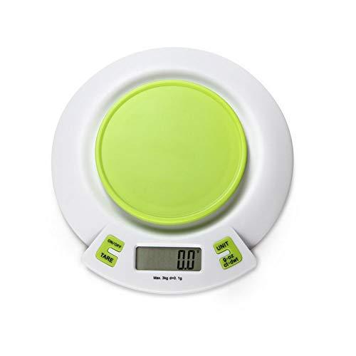 YZSHOUSE Multifuncional Digital Balanza De Cocina, 0.1g / 1g Precisión Casa Horneando Escala De Alimentos, Pequeña Cocina Escala Electrónica (Size : 5kg/1g)