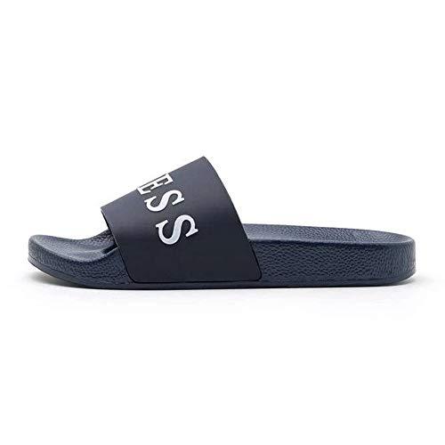Guess Slides Azul Size: 45 EU