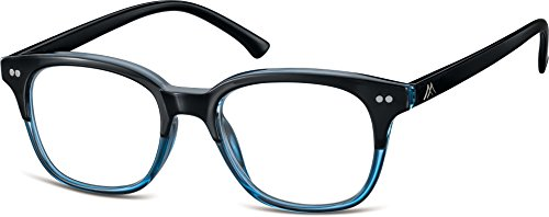 Montana Eyewear Sunoptic MR82C Lesebrille in blau- Stärke +2.50 inklusive Soft Etui