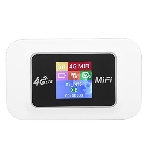 SALUTUY Hotspot Móvil 4G LTE Router, WiFi Conecta hasta 10 Dispositivos 4G LTE Mobile WiFi Hotspot Router De Internet Inalámbrico 150 Mbps Velocidad De Descarga para Exteriores(D921)
