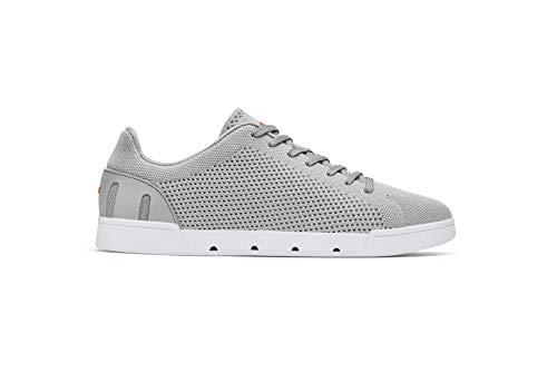 SWIMS Herren Breeze Tennis Knit Sneaker, Grau (Light Gray/White 573), 41 EU