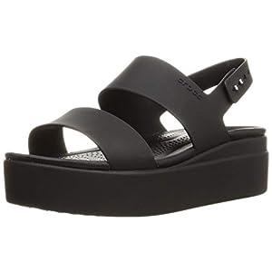 Crocs Women's Brooklyn Low Wedges Sandal