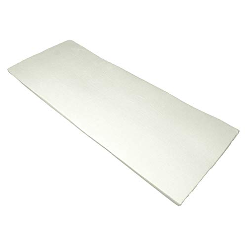 Bezug für Viscoauflage 4-6 cm, waschbar bis 95°C, mit 3-seitigem Reißverschluß Größe 90x200