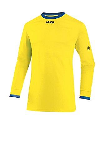 JAKO Herren Fußballtrikots LA Trikot United, Citro/Royal/Marine, M, 4383