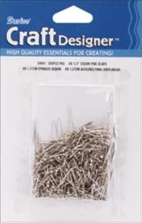 Bulk Buy: Darice Sequin Pins 500/Pkg-#8 - .5