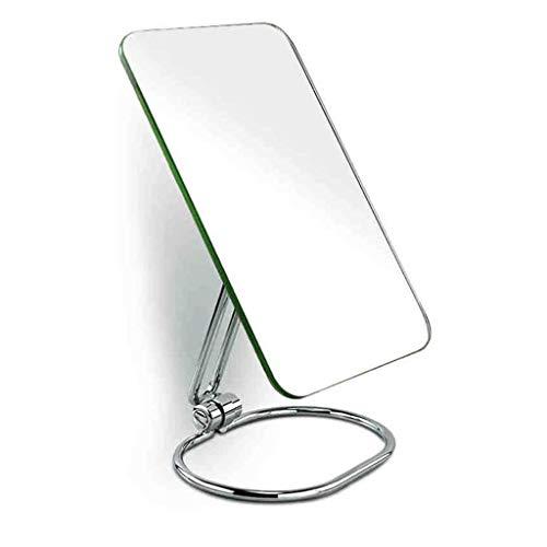 WSZJJ Folding Travel Mirror, Portable Adjustable Rectangular Ultrathin Mirror, for Travel, Camping,Home