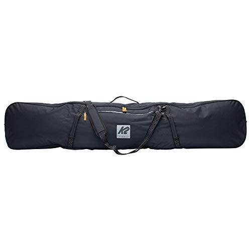 K2 Snow Unisex - Adult Snowboard Sleeve Snowboard Bag, Unisex– Adults, Snowboard bag, 20E5006, Black, 168