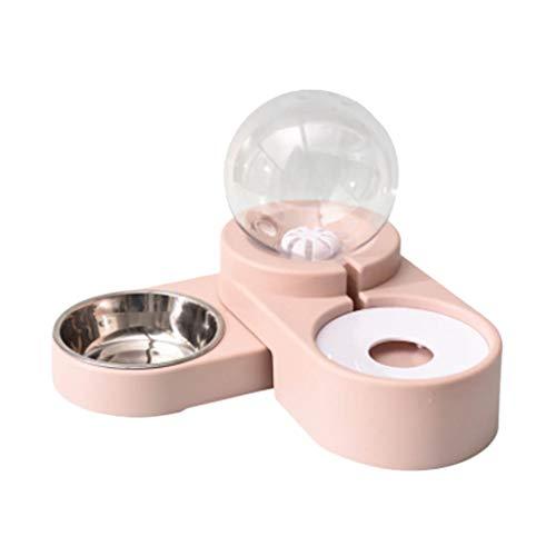 2 in 1 Automatischer Futterautomat Wasserspender für Katzen Hunde,1,8 Liter...