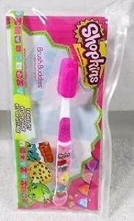 Shopkins Brush Buddies Oral Brushing Kit Tooth Brush Travel Kit