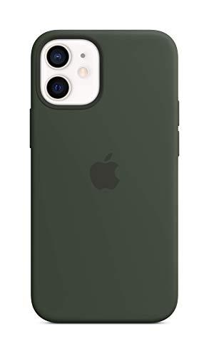 Apple SilikonHülle mit MagSafe (für iPhone 12 Mini) - Zyperngrün - 5.4 Zoll