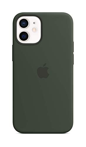 Apple SilikonCase mit MagSafe (für iPhone 12 mini) - Zyperngrün