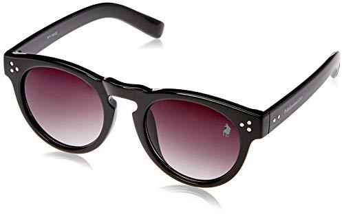 Óculos de Sol Polo London Club lente com Proteção UVA/UVB - Wayfarer Vintage Preto