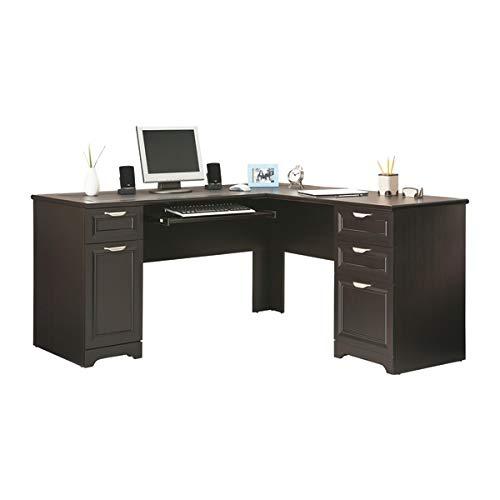 Realspace Magellan 59'W L-Shape Corner Desk, Espresso