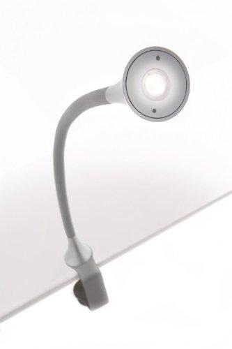 Philips LED Schreibtischlampe Flexibel GRAU